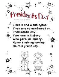 presidents day writing paper mrs bonzer s poetry folders presidents day