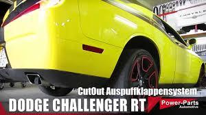 Dodge Challenger Parts - cutout auspuffsystem im dodge challenger rt 5 7l power parts