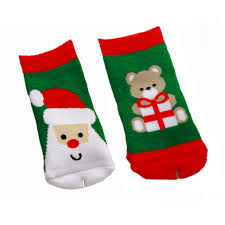 0 2 year old cotton baby boy socks for christmas winter child
