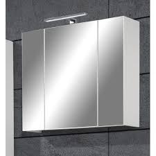 Meuble De Rangement Salle Bain Armoire 1 Miroir Meuble Haut Salle De Bain Avec Miroir Conceptions De La Maison