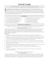 Resume Templates Accounting Cover Letter Resume Samples For Accounts Payable Resume Samples