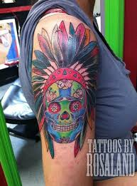 indian skull ink and piercing