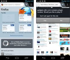 firefox for android firefox for android gets faster sports a new look technology news