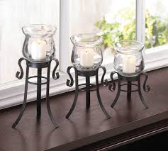 allure candle stand trio wholesale at koeher home decor