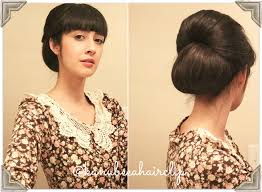 model sanggul rambut pendek kanubeea hair clip tilan anggun dengan sanggul cantik rambut sendiri