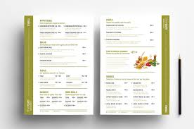 menu templates free menu templates in psd ai vector brandpacks