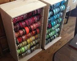 ribbon shop ribbon display etsy