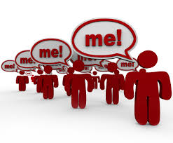 Me Me Me Me - it is all about me optimum consulting