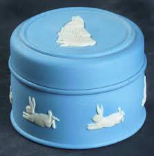 wedgwood rabbit wedgwood rabbit on lavender jasperware at replacements ltd
