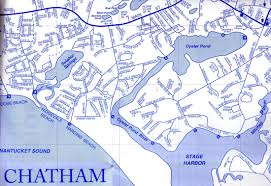 Ma Map Map Of Town Beaches U0026 Landings The Oyster Inn Chatham Ma