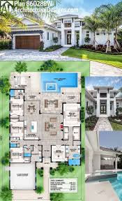 house plan design ideas modern villa unique plans 4 hahnow