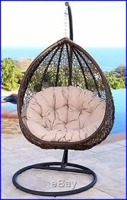 Swing Chairs For Patio Outdoor Swinging Chair Patio Porch Seat Furniture Hanging Egg