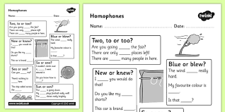 homophones worksheet homophones homophone worksheet basic