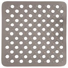 50 x 50cm bath shower mat non slip grip suction cup drain holes 50 x 50cm bath shower mat non slip