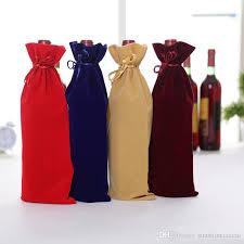 wine bottle gift bags velvet wine bottle gift bags drawstring flannel chagne wine