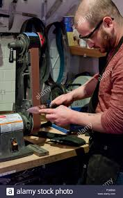 knife sharpening stock photos u0026 knife sharpening stock images alamy