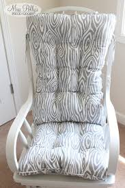 Custom Chair Cushions Custom Chair Cushions Glider Cushions Rocking Chair