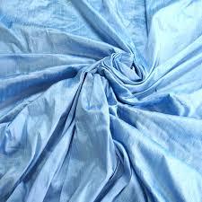 Silk Drapery Fabric By The Yard Sky Blue 100 Dupioni Silk Fabric Yardage By The Yard 54 U2033 Wide Raw