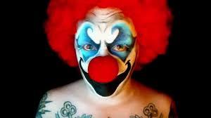 killer clown makeup halloween killer clown halloween makeup tutorial youtube