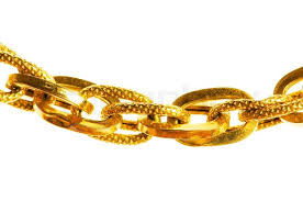 golden chain bracelet images Golden chain isolated on the white background stock photo jpg