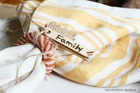 thanksgiving napkin rings uncommon designs