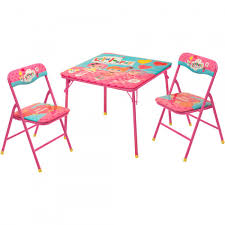 Folding Table And Chair Set For Toddlers Mga Lalaloopsy Square Table And Chair Set Shoptv
