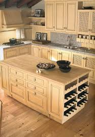 kitchen islands with wine rack rosewood cordovan raised door kitchen island with wine rack