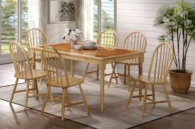 6 Seat Kitchen Table by Tile Top Dining Table Rectangular Rustic Dining Table With
