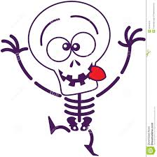 cute halloween images cute halloween skeleton making funny faces stock vector image