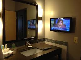 Bathroom Mirror With Tv by Bathroom Mirror With Tv Amarillo Photo Tv In The Bathroom