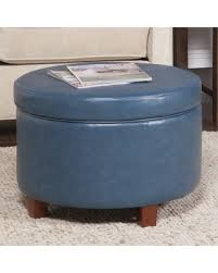 Blue Storage Ottoman Holiday Shopping Season Is Upon Us Get This Deal On Homepop Large