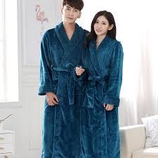 robe de chambre hommes nouveaux amants hiver chaud peignoir hommes salon gaufre
