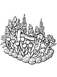 coloring pages flower garden flower coloring pages