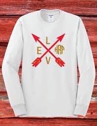 Georgia Flag Chubbies Monogram Valentines Day Shirt Youth Long Sleeve Arrows Heart