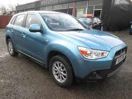 mitsubishi suv blue used blue mitsubishi asx for sale torfaen