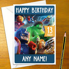 hulk birthday card ebay