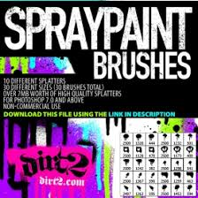 Photoshop Spray Paint - 200 free spray paint brushes for photoshop designm ag