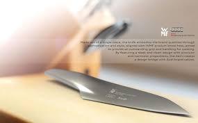 wmf kitchen knives beautiful streamlined blades wmf audi kitchen knife