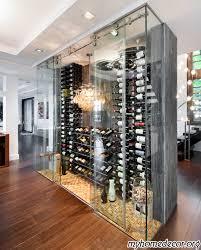 Modern Wine Cellar Design IN MY HOME RIGHT MEOW Holy Bananas - Home wine cellar design ideas