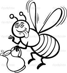 honey bee coloring pages kids bee coloring pages