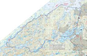 Boundary Waters Map Bwca May 2013