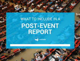 post event report template how to write a post event survey what questions to ask currinda