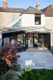 victorian terraced house rear extension and renovation idea