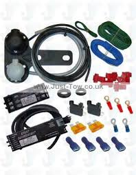 universal twin 12n s towbar electric wiring kit charger relay