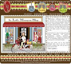monogram websites monogram shop web design personalized preppy classic colorful