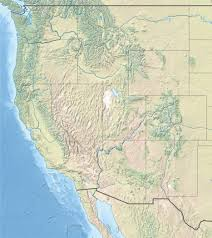 Us Map Topography Western United States Public Domain Maps By Pat The Free Open Map