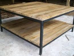 60 x 60 coffee table reclaimed coffee table teak furniture pertaining to 60 idea 5