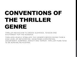 fantasy film genre conventions conventions of the thriller genre film je cherche un film romantique