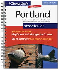 Portland Maine Zip Code Map by The Thomas Guide Portland Street Guide Thomas Guide Portland