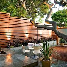 Privacy Fencing Ideas For Backyards This Is A Modern Horizontal Board Wood Privacy Fence Design That